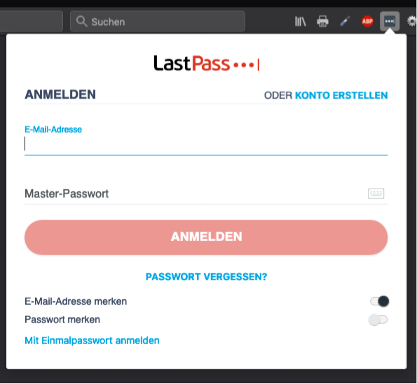 Solved: Logging into LastPass Firefox extension results in ...