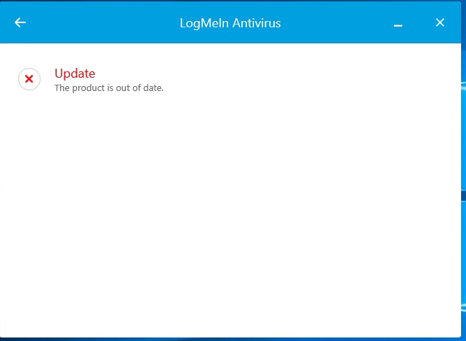 LogMeIn AV Product is out of date 2.png
