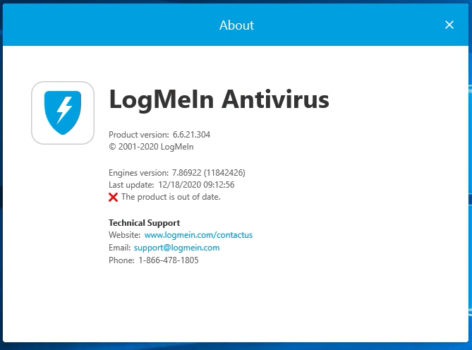 LogMeIn AV Product is Out of Date.png