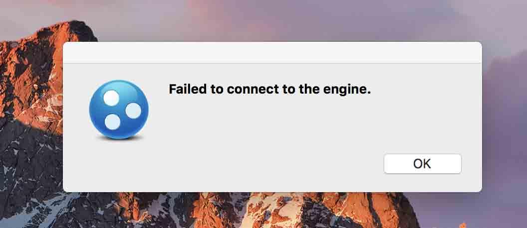 Logmein connection failed