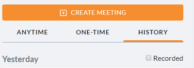 Past one-time meetings in new Hub history tab.png