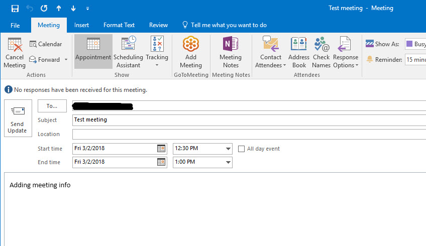 Solved: Outlook Plugin - Convert Existing Outlook Meeting