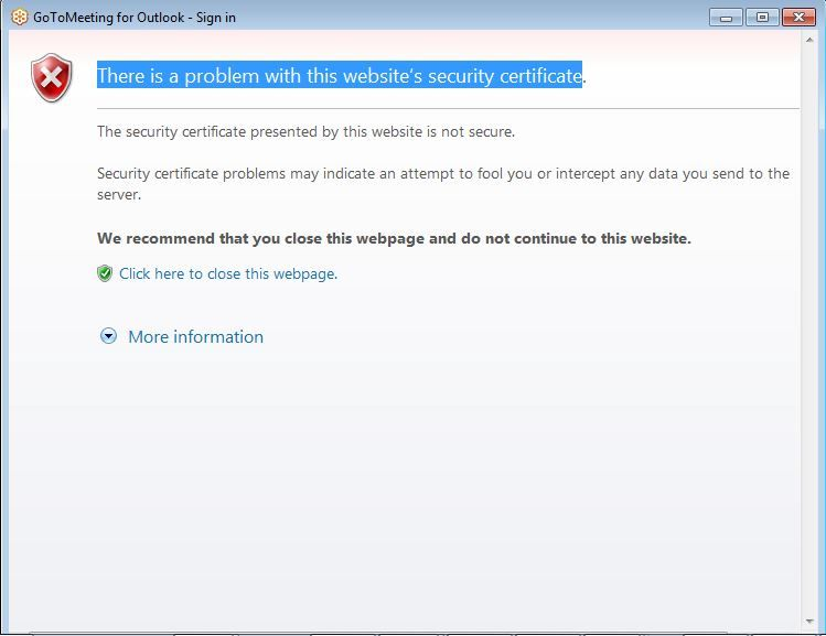 Error When Installing Outlook Plugin: