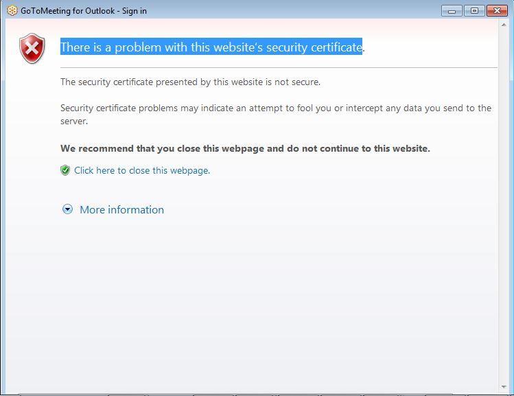 Error When Installing Outlook Plugin: